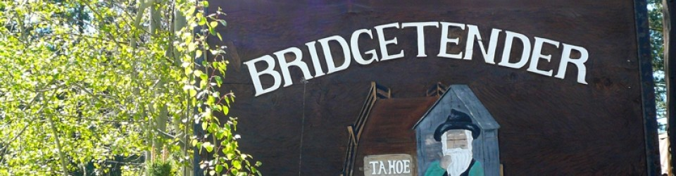 Bridgetender Rest Sign