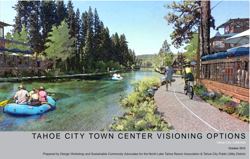 Tahoe City Town Center Visioning OptionsTahoe City Town Center Visioning Options