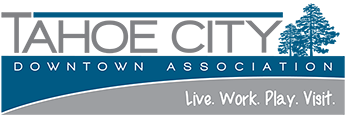 Tahoe City Downtown Association Sticky Logo
